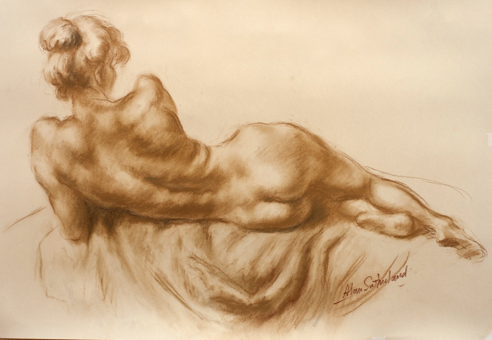Alan Sutherland - Life drawings