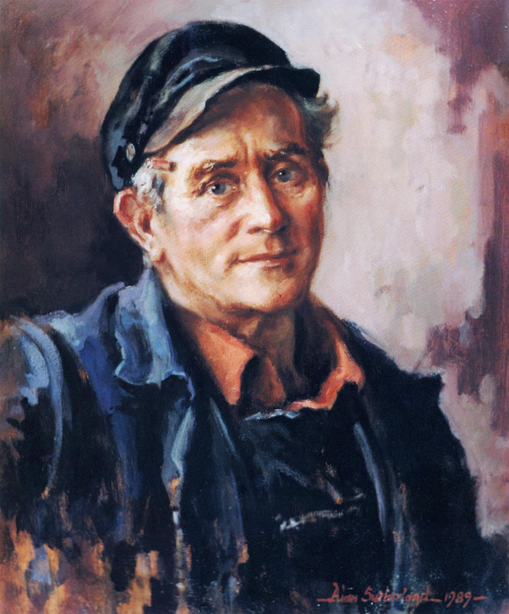 Portrait - Bob Mackenzie, Carpenter/Joiner, Fife Ports