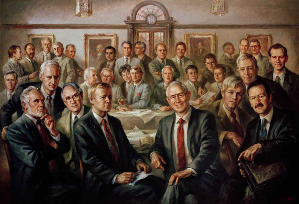Royal College of Physicians and Surgeons of Glasgow - Boardroom Portrait