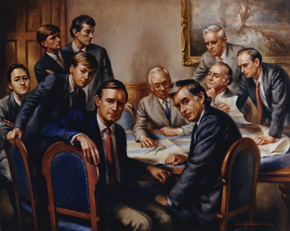 Forth Ports Boardroom Portrait
